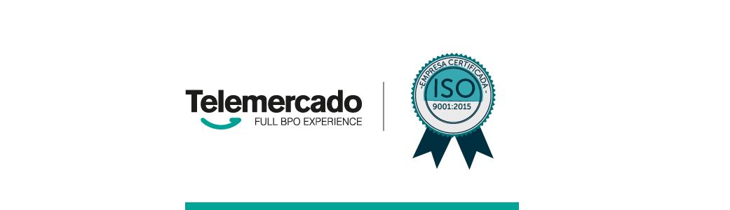 Telemercado recibió la certificación ISO 9001:2015